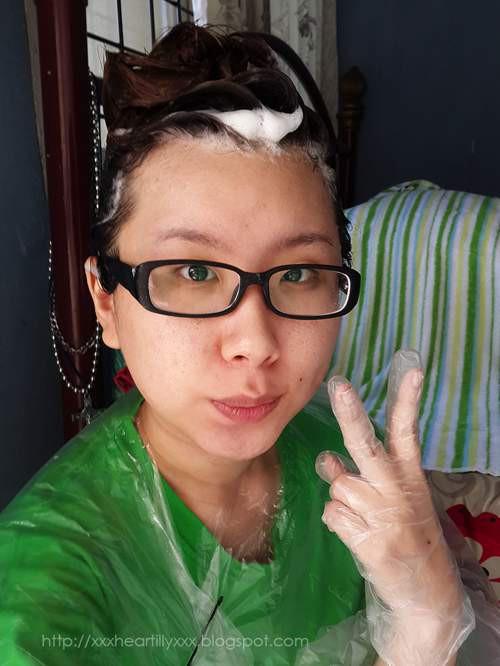 Dầu Gội Nhuộm Tóc Nhanh Etude House Hot Style Bubble Hair Coloring