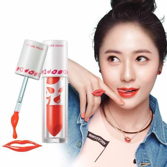 [Đồng giá 119K] Son Lì Dạng Kem Etude House Color in Liquid Lips