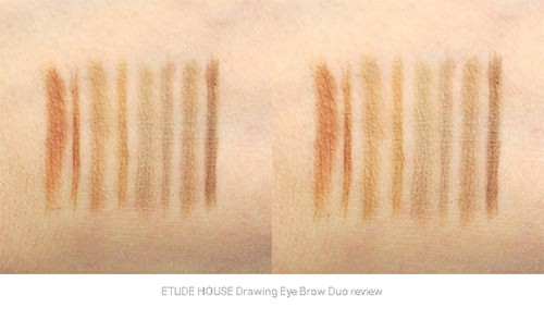 [BIG SALES] Chì Kẻ Mày 2 Trong 1 Etude House Drawing Eye Brow Duo