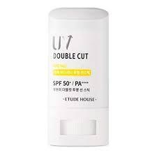 Kem Chống Nắng Dạng Thỏi Dưỡng Ẩm Etude House Uv Double Cut Clear Sun Stick SPF 50+ PA++++ 19g