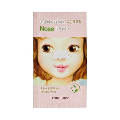 Miếng Lột Mụn Mũi Etude House Green Tea Nose Pack