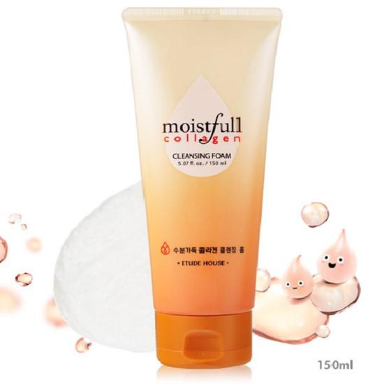[BIG SALE] Sữa Rửa Mặt Dưỡng Ẩm Săn Chắc Da Etude House Moistfull Collagen Cleansing Foam 150ml