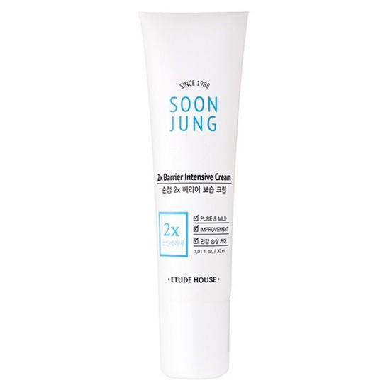 Kem Dưỡng Ẩm Và Trị Mụn Etude House Soon Jung 2X Barrier Intensive Cream 30ml