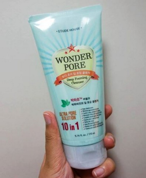 Sữa Rửa Mặt Sạch Sâu Etude House Wonder Pore Deep Foaming Cleanser