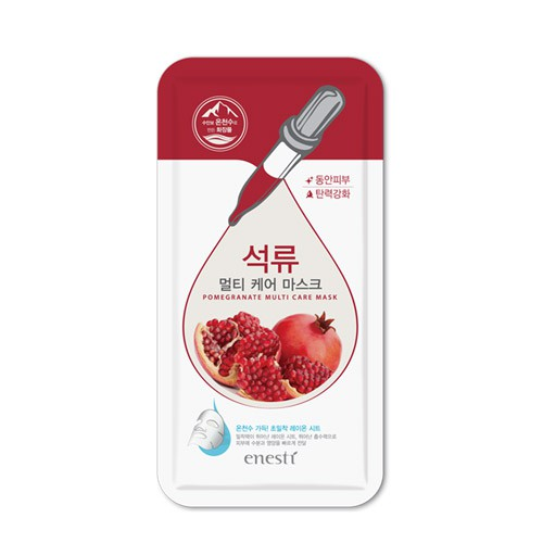 Mặt Nạ Lựu Sáng Mịn Da Enesti Pomegranate Multi Care Mask 27g