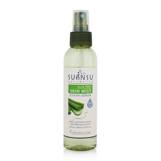 Xịt Khoáng Dưỡng Ẩm Chiết Xuất Lô Hội Enesti Suansu Aloe Vera Skin Mist 150ml