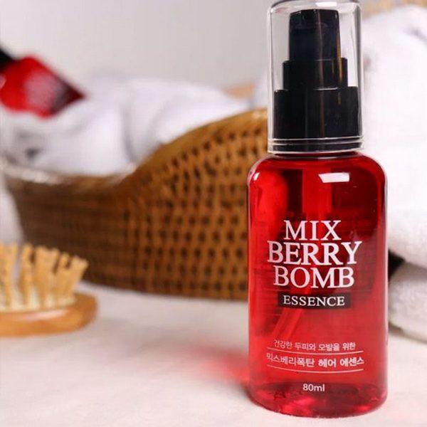 Tinh Chất Phục Hồi Tóc Hư Tổn Enesti Mix Berry Bomb Essence 80ml