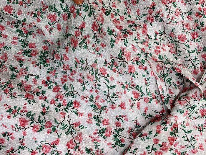 Đầm Xòe In Hoa Nhí