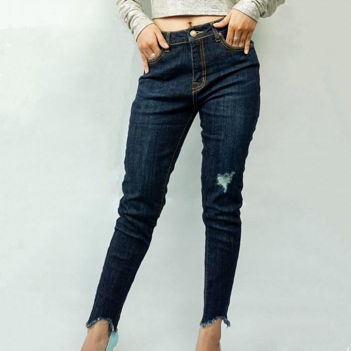 Quần Jeans Skinny Rách Urban 92 (Màu Đậm)
