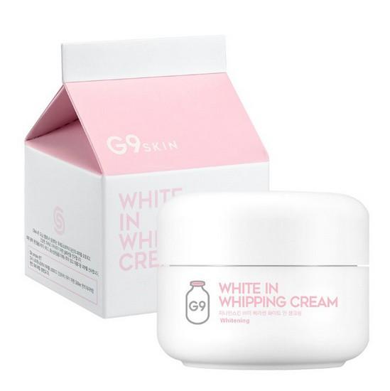 Kem Dưỡng Trắng, Mờ Thâm, Tàn Nhang G9Skin White In Whipping Cream