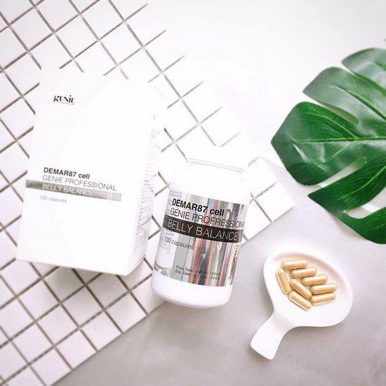 Viên Uống Làm Tan Mỡ Bụng Chiết Xuất Từ Thảo Dược Genie Demar87 Cell Professional Belly Balance (Lọ 130 Viên)