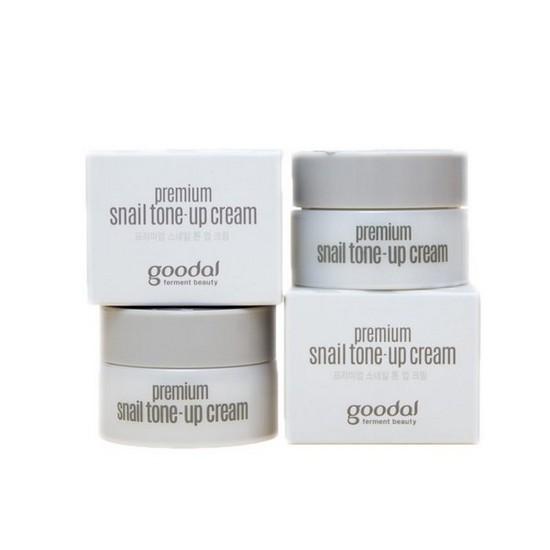 [BIG SALES] Kem Dưỡng Trắng Da Goodal Premium Snail Tone-up Cream 10ml - Dùng thử