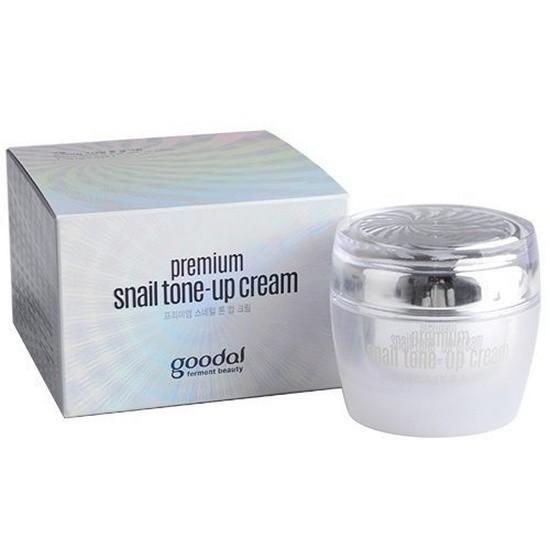 [BIG SALES] Kem Dưỡng Trắng Da Goodal Premium Snail Tone-up Cream 50ml