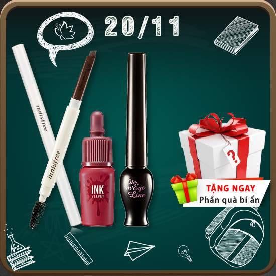 20/11 - Combo Cô Anh Văn Kính Mến Make Up Set