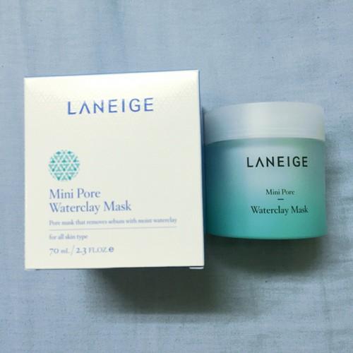 Mặt Nạ Bùn Khoáng Se Khít Lỗ Chân Lông Laneige Mini Pore Water Clay Mask 70ml