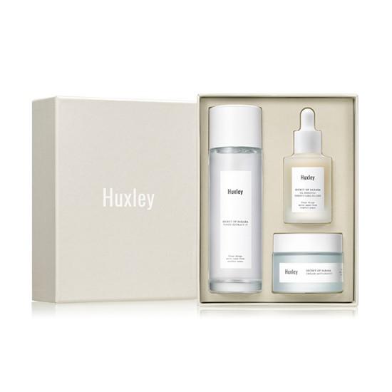 Bộ Dưỡng Da Chống Lão Hóa Cao Cấp Huxley Secret of Sahara Antioxidant Trio (3 sản phẩm)