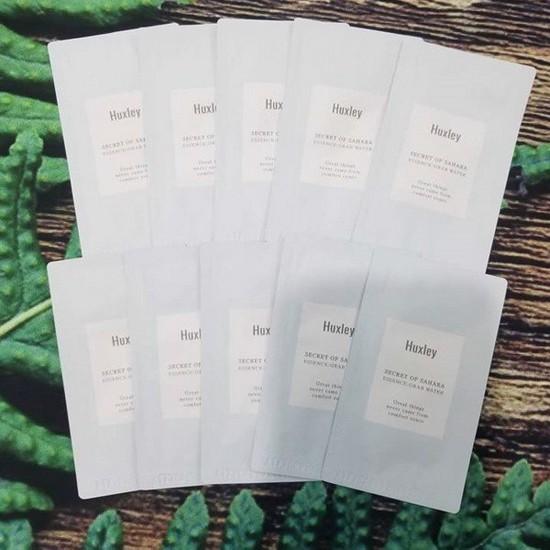 Combo 5 Tinh Chất Dưỡng Ẩm Và Làm Dịu Làn Da Chiết Xuất Từ Xương Rồng Huxley Secret Of Sahara Essence Grab Water