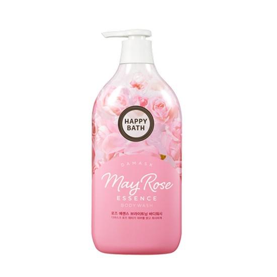 Sữa Tắm Tinh Chất Hoa Hồng Happy Bath May Rose Essence Body Wash Dưỡng Ẩm, Sáng Da
