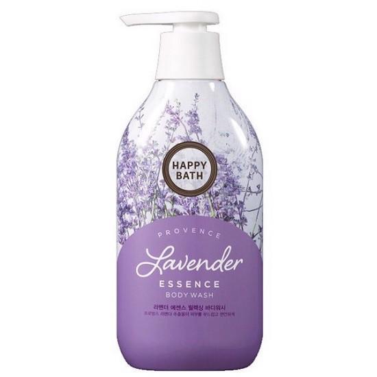 Sữa Tắm Dưỡng Ẩm Và Sáng Da Hoa Oải Hương Happy Bath Natural Lavender Essence Body Wash 900g