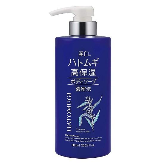 Sữa Tắm Dưỡng Ẩm Trắng Da Hatomugi The Body Soap 600ml