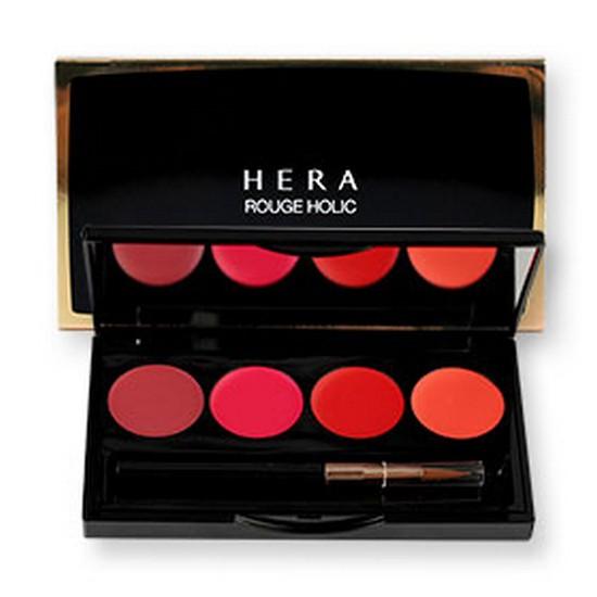 [BIG SALES] Bảng Son Lì 4 Màu Siêu Mịn Hera Rouge Holic