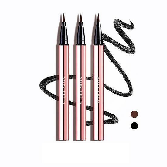 [HOT] Bút Kẻ Mắt Nước Milky Dress Barbie Make Brush Pen Eyeliner