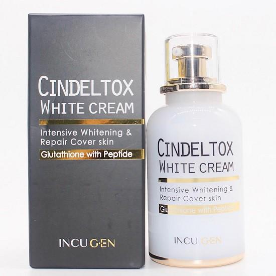 [HOT] Kem Dưỡng Trắng Da Incugen Cindel Tox White Cream 50ml
