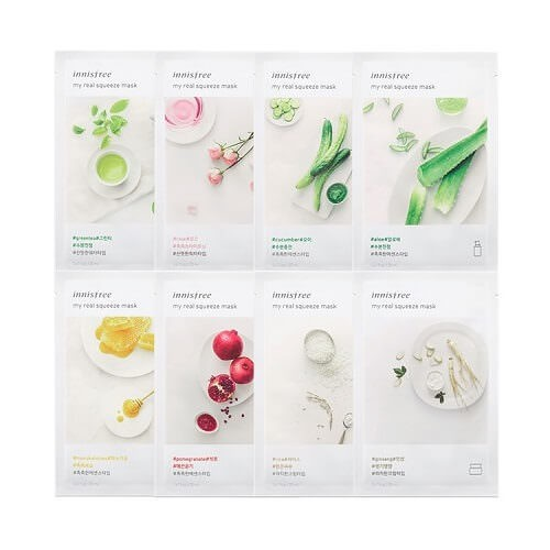 Mặt Nạ Giấy Innisfree My Real Squeeze Mask Giá Tốt