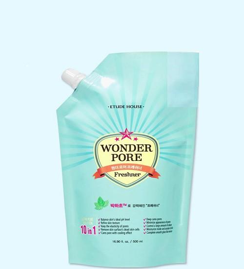 Nước Hoa Hồng Etude House Wonder Pore Freshner Refill 500ml