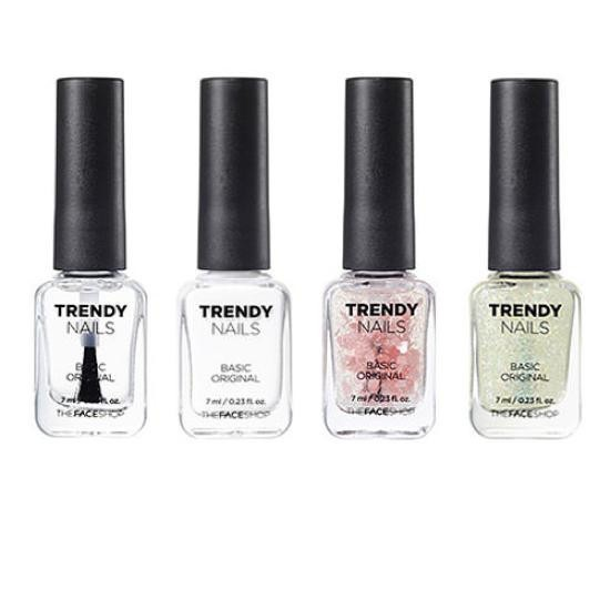 Sơn Móng Tay The Face Shop Trendy Nails (Màu WH)
