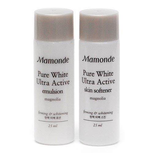 Sữa Dưỡng Trắng Da Mamonde Pure White Ultra Active Emulsion 25ml