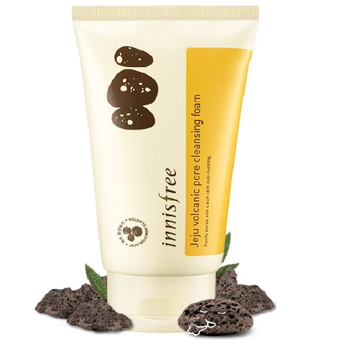 Sữa Rửa Mặt Innisfree Jeju Volcanic Pore Cleansing Foam 80ml