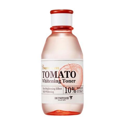 Nước Hoa Hồng Làm Trắng Da Chiết Xuất Cà Chua SkinFood Premium Tomato Whitening Toner 180ml