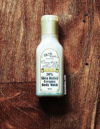 [Đồng Giá 49K] Sữa Tắm Giữ Ẩm Bơ Hạt Mỡ SkinFood Shea Butter Creamy Body Wash 50ml