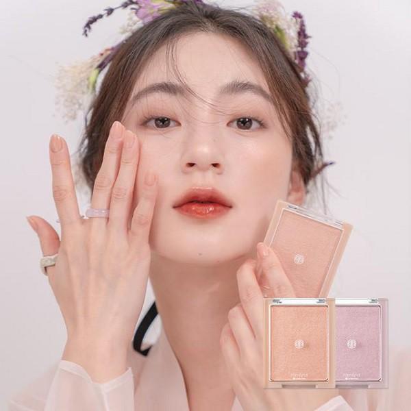 Phấn Bắt Sáng Ánh Nhũ Lấp Lánh Siêu Xinh Romand See-Through Veillighter - Hanbok Project 5.5g