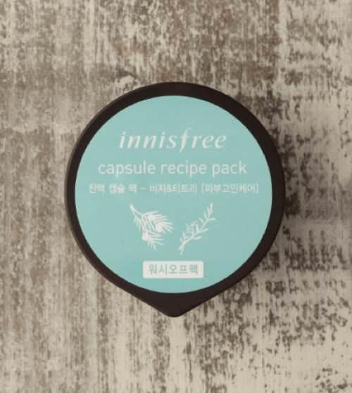 Mặt Nạ Ngủ Innisfree Capsule Recipe Pack 10ml