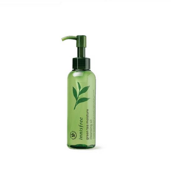 Dầu Tẩy Trang Dưỡng Ẩm Trà Xanh Innisfree Green Tea Moisture Cleansing Oil 150ml