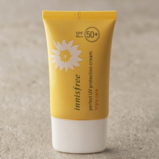 Kem Chống Nắng Chống Rửa Trôi Innisfree Perfect UV Protection Cream Triple Care SPF50 PA+++ (Mới 06/2016)
