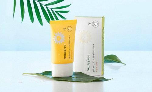 Kem Chống Nắng Chống Rửa Trôi Innisfree Perfect UV Protection Cream Triple Care SPF50 PA+++