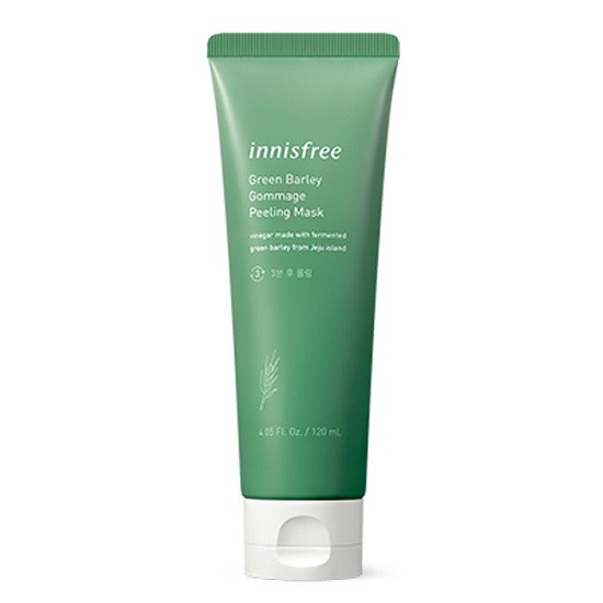 Mặt Nạ Tẩy Tế Bào Chết Chiết Xuất Từ Lúa Mạch Innisfree Green Barley Gommage Peeling Mask 120ml