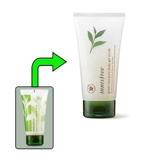 Gel Tẩy Tế Bào Chết Toàn Thân Innisfree Green Tea Pure Body Gel Scrub 150ml