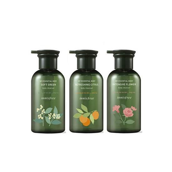 Sữa Tắm Phiên Bản Giới Hạn Tinh Tế Với Hương Thơm Tự Nhiên Innisfree My Essential Body Cleanser 330ml