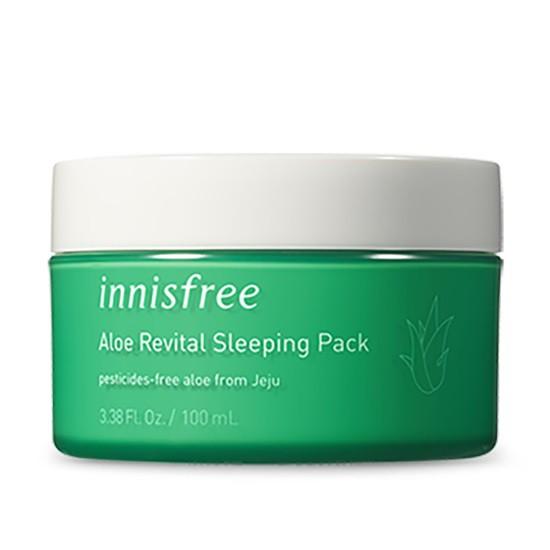 Mặt Nạ Ngủ Dưỡng ẩm Innisfree Aloe Revital Sleeping Pack 100ml