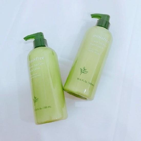 Sữa Dưỡng Thể Giữ Ẩm Và Ngăn Ngừa Lão Hoá Trà Xanh Innisfree Green Tea Pure Body Lotion 300ml