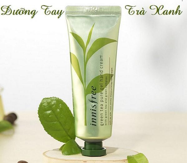 Kem Dưỡng Da Tay Chiết Xuất Trà Xanh Innisfree Green Tea Pure Gel Hand Cream 50ml