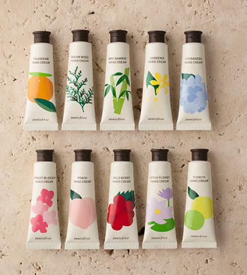 Kem Dưỡng Da Tay Innisfree Jeju Perfume Hand Cream 30ml