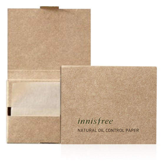 Giấy Thấm Dầu Innisfree Natural Oil Control Paper