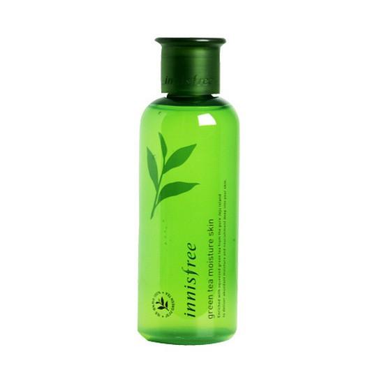 Nước Hoa Hồng Dưỡng Ẩm Innisfree Green Tea Moisture Skin 200ml