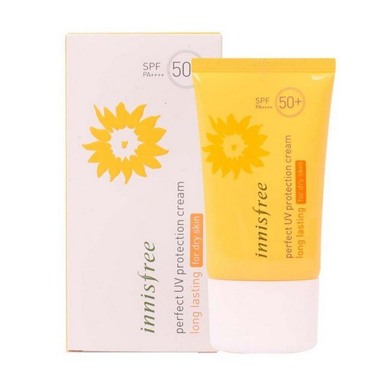 Kem Chống Nắng Innisfree Perfect UV Protection Cream Long Lasting For Dry Skin SPF50+ PA+++ 50ml