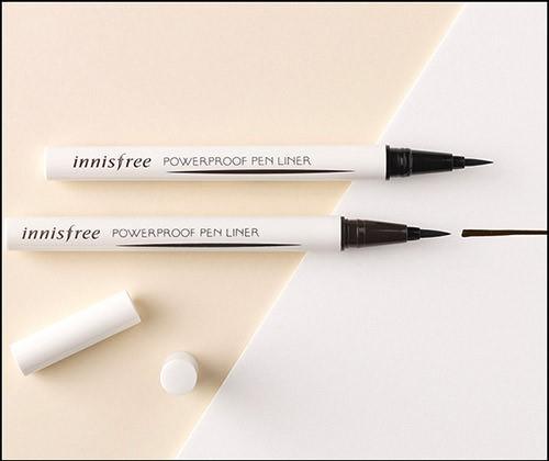 Kẻ Mắt Nước Chống Trôi Innisfree Powerproof Brush Liner